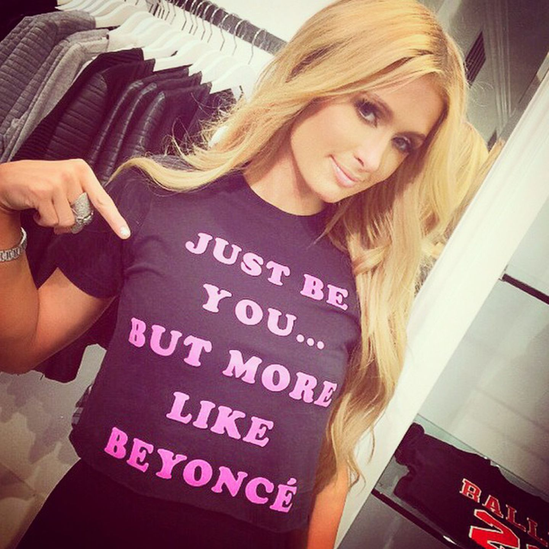 Dass Beyoncé mit ihrem Selbstbewusstsein ein tolles Vorbild ist, weiß sogar Paris Hilton. Sie meint, dass jeder zwar so sein sollte, wie er ist, aber eben doch etwas mehr wie der Superstar.