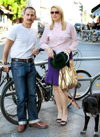 Clemens Schick, Schauspieler, & Olivia Berckemeyer, Künstlerin.
