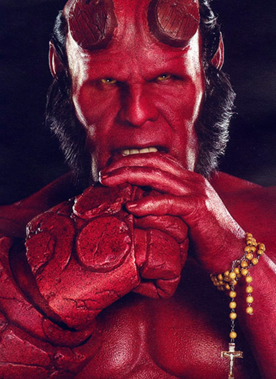 """Ron Perlman spielt 2008 im zweiten Teil von """"Hellboy"""" den Sohn des Teufels - mit guten Absichten."""