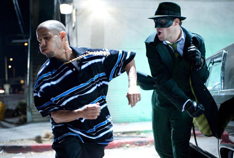 """Seth Rogen lässt als """"Green Hornet"""" die Fäuste sprechen."""