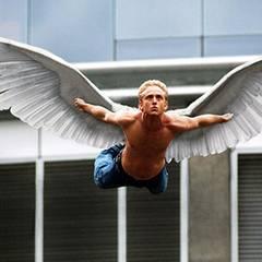 """Flieg mein Vögelchen: Ben Forster spreizt 2006 sein Flügel in """"X-Men 3"""""""