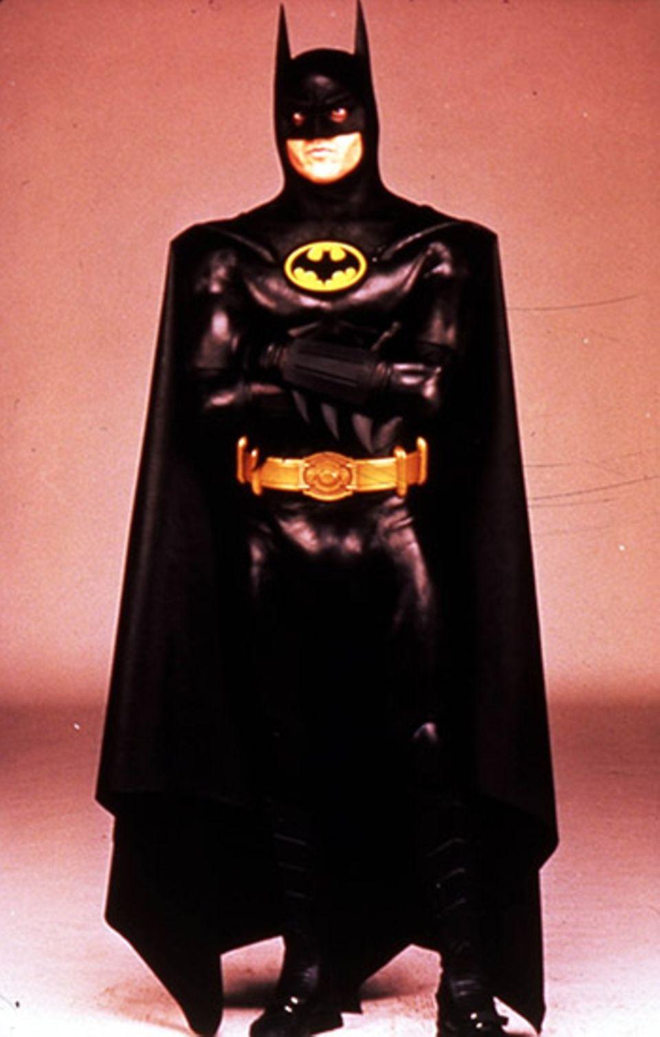 1989 verfilmte Tim Burton mit Michael Keaton in der Hauptrolle die Geschichte vom schwarzen Rächer: Batman