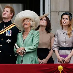 Herzogin Catherine, Prinz Harry, Herzogin Camilla, Prinzessin Eugenie, Prinzessin Beatrice