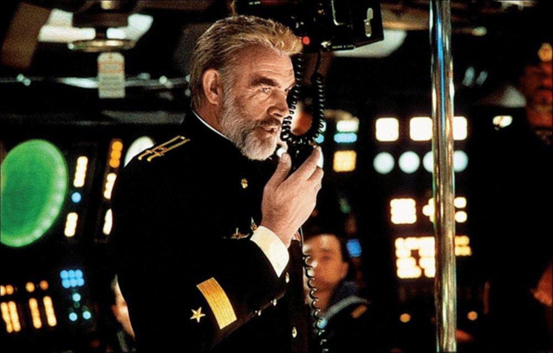 """Zuerst lehnte Connery die Rolle in """"Jagd auf Roter Oktober"""" (1990) ab."""