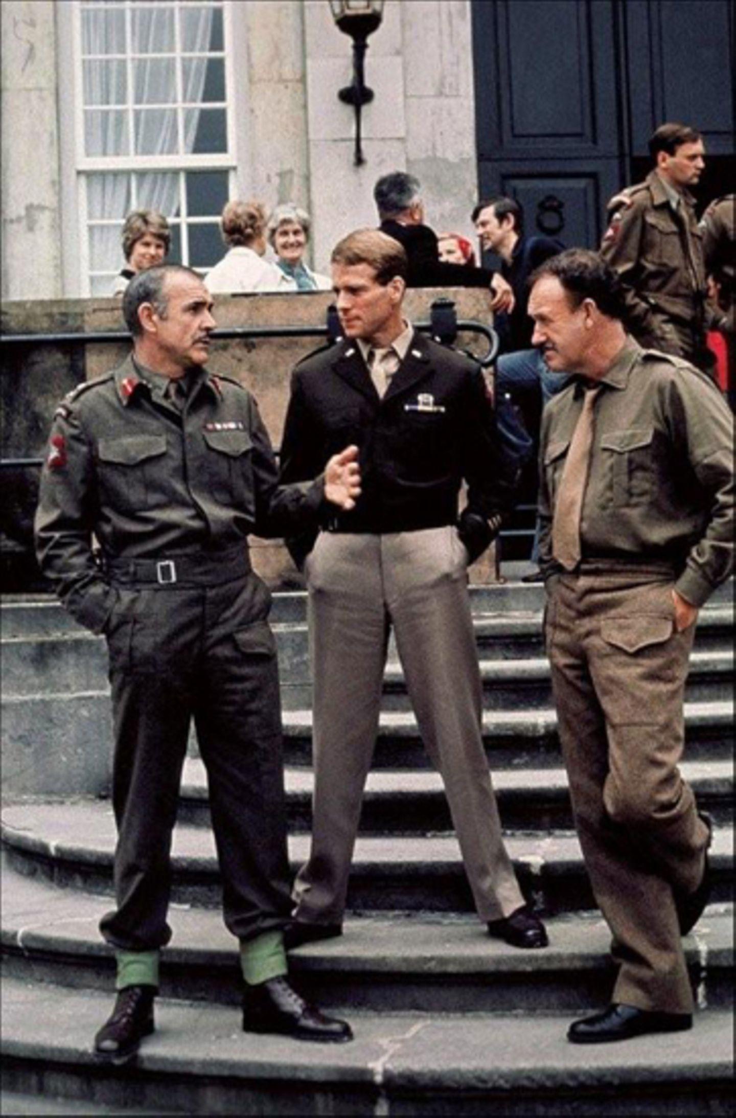 """Ein weiterer wichtiger Film für Sean Connery: Das Weltkriegsepos """"Die Brücke von Arnheim"""" (1977)"""