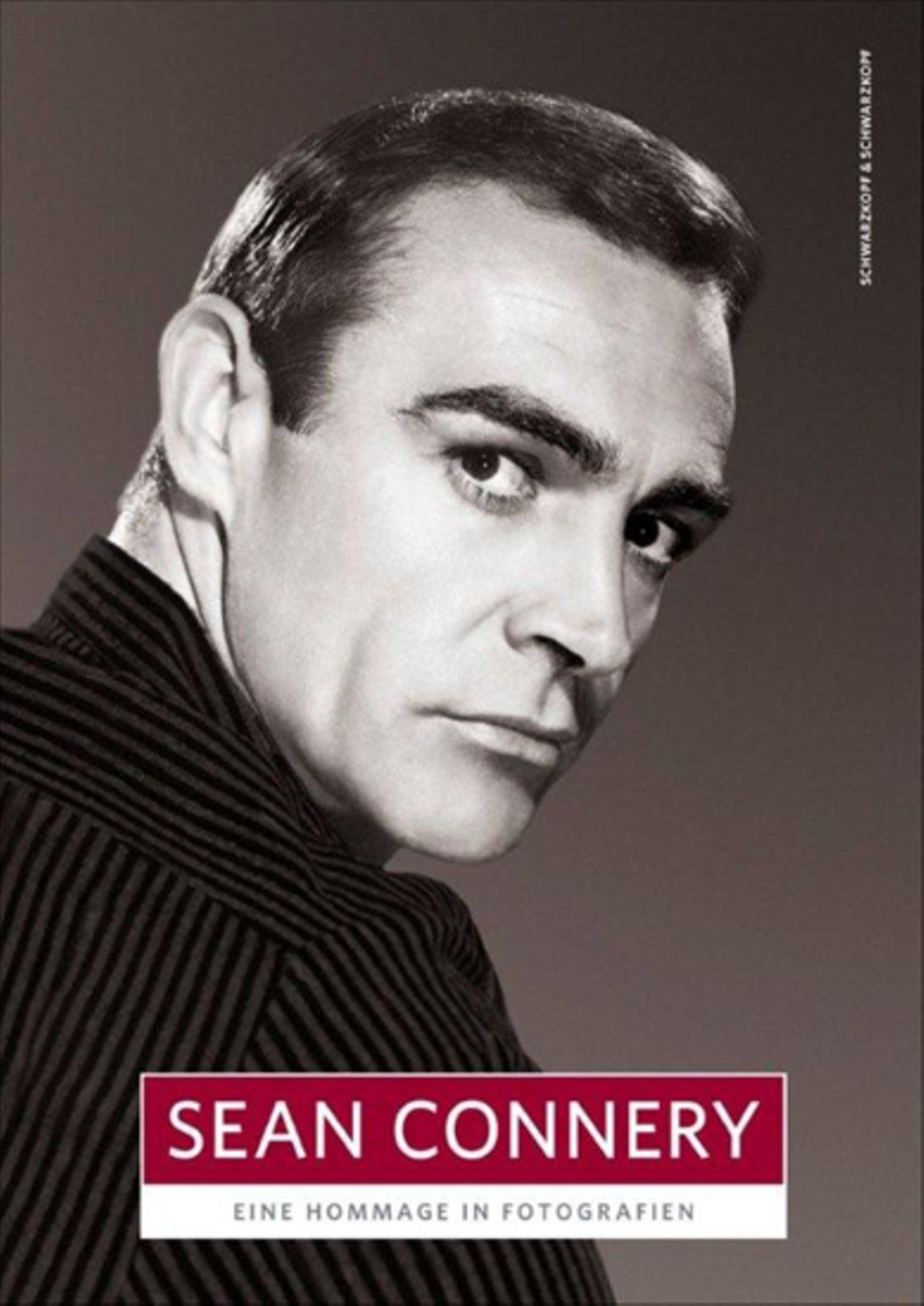 """Der Bildband """"Sean Connery – Eine Hommage in Fotografien"""" erscheint anlässlich des 80. Geburtstags des Schauspielers am 25. August 2010 im Schwarzkopf + Schwarzkopf Verlag (Preis 19,95 Euro)."""