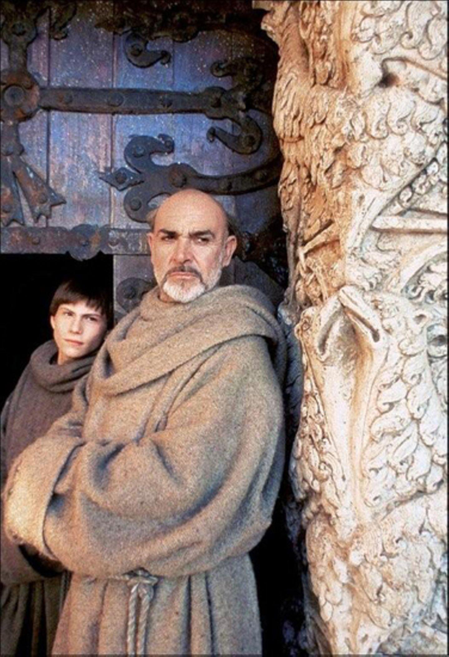 """Connery war nicht die erste Wahl für die Rolle des Mönchs William von Baskerville in """"Der Name der Rose"""" (1986)."""