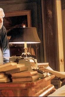 "Connery als William Forrester in Gus Van Sants Film ""Forrester ? Gefunden!""."