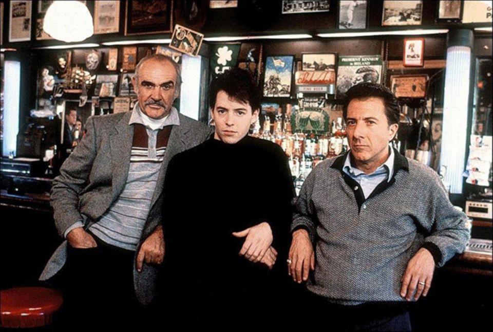 """Während der Dreharbeiten zu """"Family Business"""" (1989) gab Matthew Broderick vor einigen Crewmitgliedern immer seine Connery-Imita"""