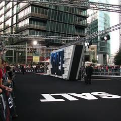 Salt Premiere Berlin: Der Teppich vor der großen Premiere.