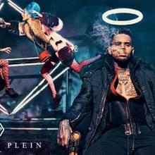 Chris Brown in der Herbst/Winter-Kampagner von Philipp Plein