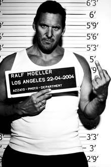 Der deutsche Hollywood-Star Ralf Möller zeigt, was Sache ist.