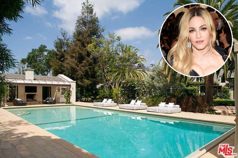 Madonna  Auch Madonna hat sich zusammen mit ihrem Ex-Mann Guy Ritchie eine Villa in Südfrankreich gegönnt. Nach der Trennung hat die Pop-Diva das Anwesen gewinnbringend verkauft. Nun steht es wieder zum Verkauf und ist für circa 18 Millionen Euro zu haben.
