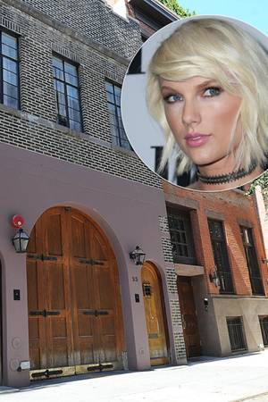 40.000 Dollar zahlt Taylor Swift monatlich für ihr neues Miet-Townhouse im New Yorker West Village.