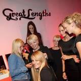 Gala Style Club: Am Great Lengths - Beratungsstand konnte man sich über Haarverlängerung informieren.