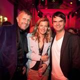 Gala Style Club: Ralf Mock (l., Thomas Sabo) mit GALA-Vizechefredakteurin Astrid Saß und André Pollmann (Gruner+Jahr).