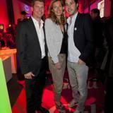 Nils Oberschelp, Astrid Saß und Jonas Wolf sind als Gastgeber sichtlich zufrieden.