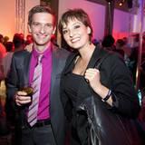 Gala Style Club: Jasmin Bildhäuser (Staatlich Fachingen) und ihr Lebensgefährte Alexander Hotz.