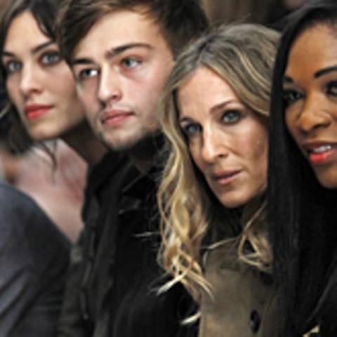London Fashion Week - Alexa Chung, Douglas Booth, Sarah Jessica Parker
