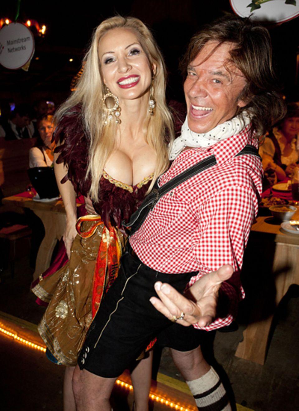 Oktoberfest 2011: Ramona und Jürgen Drews schwingen das Tanzbein.