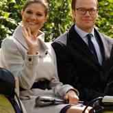 Schwedisches Kronprinzenpaar in Frankreich