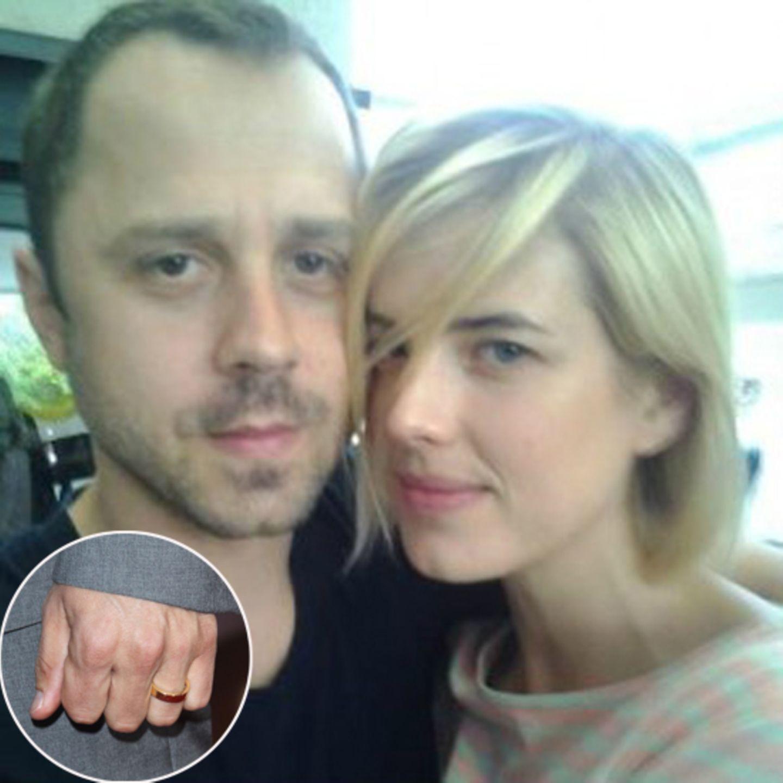 Giovanni Ribisi und Agyness haben völlig überraschend in Los Angeles geheiratet. Seinen schlichten Ehering zeigte der Schauspiel