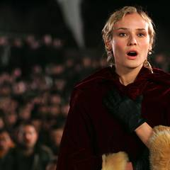 """Diane Kruger in """"Merry Christmas"""" (2005)"""