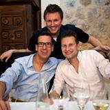 Gala MEN Buddy Weekend: Jan Kruse (Lacoste), Randy Dohack (Nintendo) und Oliver Gerbitz (Escada) (v. l.)