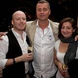 Gala MEN Buddy Weekend: Chris Götz, Ralf Büttner und Sabine Schwöbel (alle Camp David)