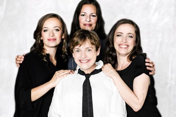 Könnte glatt als vierte Thalbach durchgehen: Redakteurin Stefanie Böhm