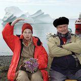 13. Juli 2011: Das dänische Königspaar Königin Margrethe und Prinz Henrik sind zur Zeit zu Besuch in Grönland. Die vierzehn-tägi