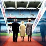 18. Mai 2011: Ein historischer Moment: Zum ersten Mal reisen Queen Elizabeth und Prinz Philip nach Irland. Gemeinsam mit Irlands