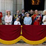 """11. Juni 2011: Die """"Trooping the Colour""""-Zeremonie in London findet jedes Jahr zu Ehren des Geburtstages des Queen statt."""