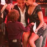 """30. März: Sylvie van der Vaart bekommt in der Live-Tanzshow """"Let's Dance"""" Unterstützung von ihrem Mann Rafael van der Vaart und"""