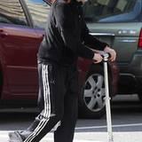 23. Oktober 2011: Julianne Moore ist mit einem Scooter in New York unterwegs.