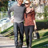 28. Dezember 2011: Kate Bosworth und Michael Polish schlendern gemütlich durch Los Angeles.
