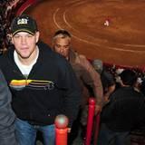 20. November 2011: Matt Damon hat sich in Mexico einen Stierkampf angesehen.