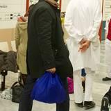 29. November 2011: Fadi Fawaz ist nach Wien gereist, um seinem Freund George Michael beizustehen.                                                  George Michael wird in Wien w