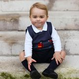 Die Fotoreihe des kleinen Prinzen entstand im späten November 2014 in der Londoner Residenz seiner Eltern.