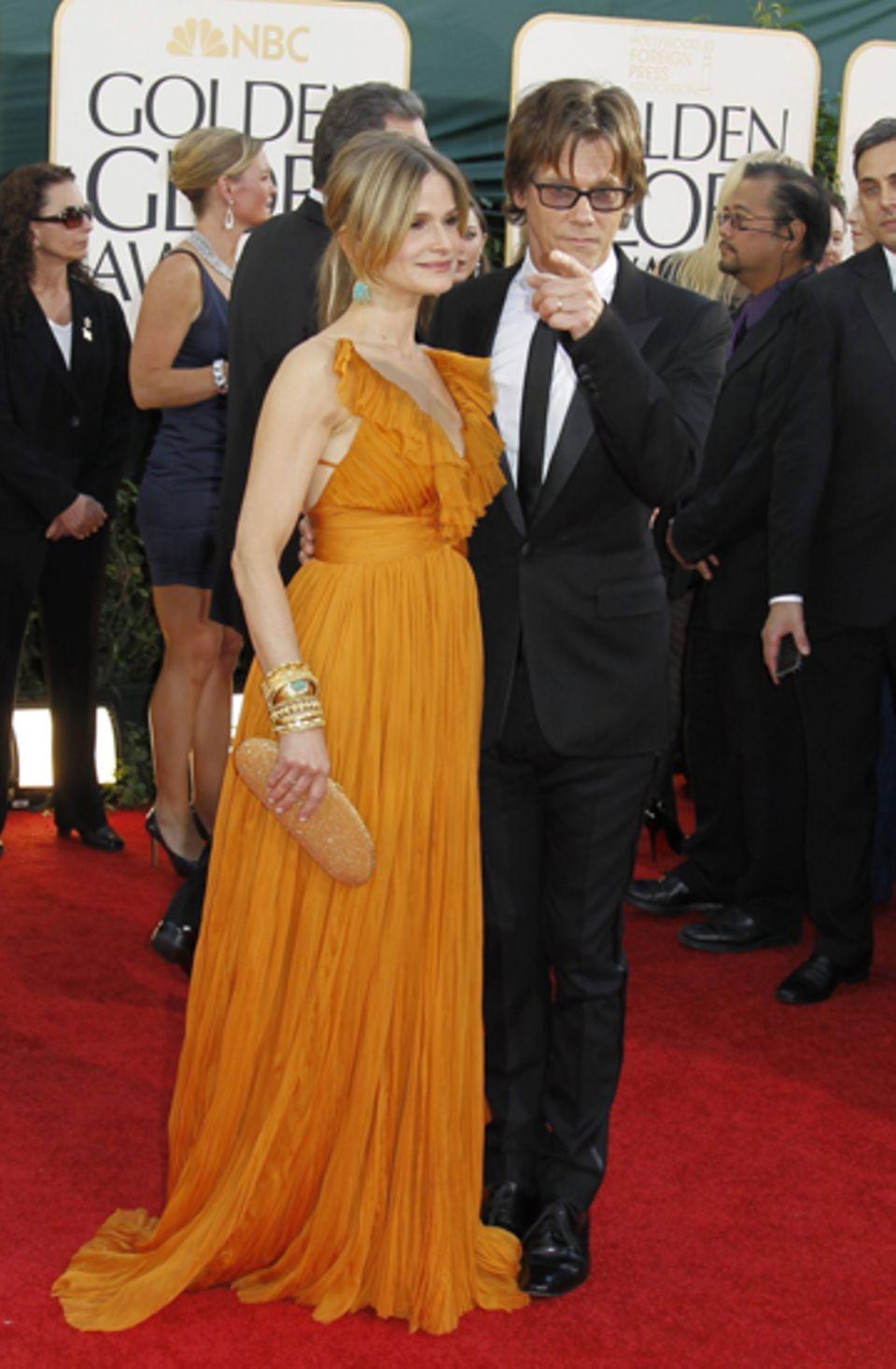 Kyra Sedgwick und Kevin Bacon gehören zum fast zum Golden-Globe-Standardrepertoire.