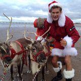 David Hasselhoff schickt seinen Fans Weihnachtsgrüße über Twitter.