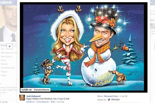 Lustige Weihnachtsgrüße Verschicken.Weihnachten Festtagsstimmung Bei Den Stars S 416 Gala De