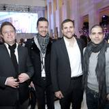 Jeremy Bauer (Reebok Deutschland GmbH), Marco Stein (Seven for all Mankind), Wolfgang Lange (L'Oreal Deutschland GmbH), Tim Wall