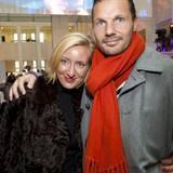Stephanie Fresle (M. Lange + Co GmbH) hat ihren Mann Sebastian Höft mitgebracht.