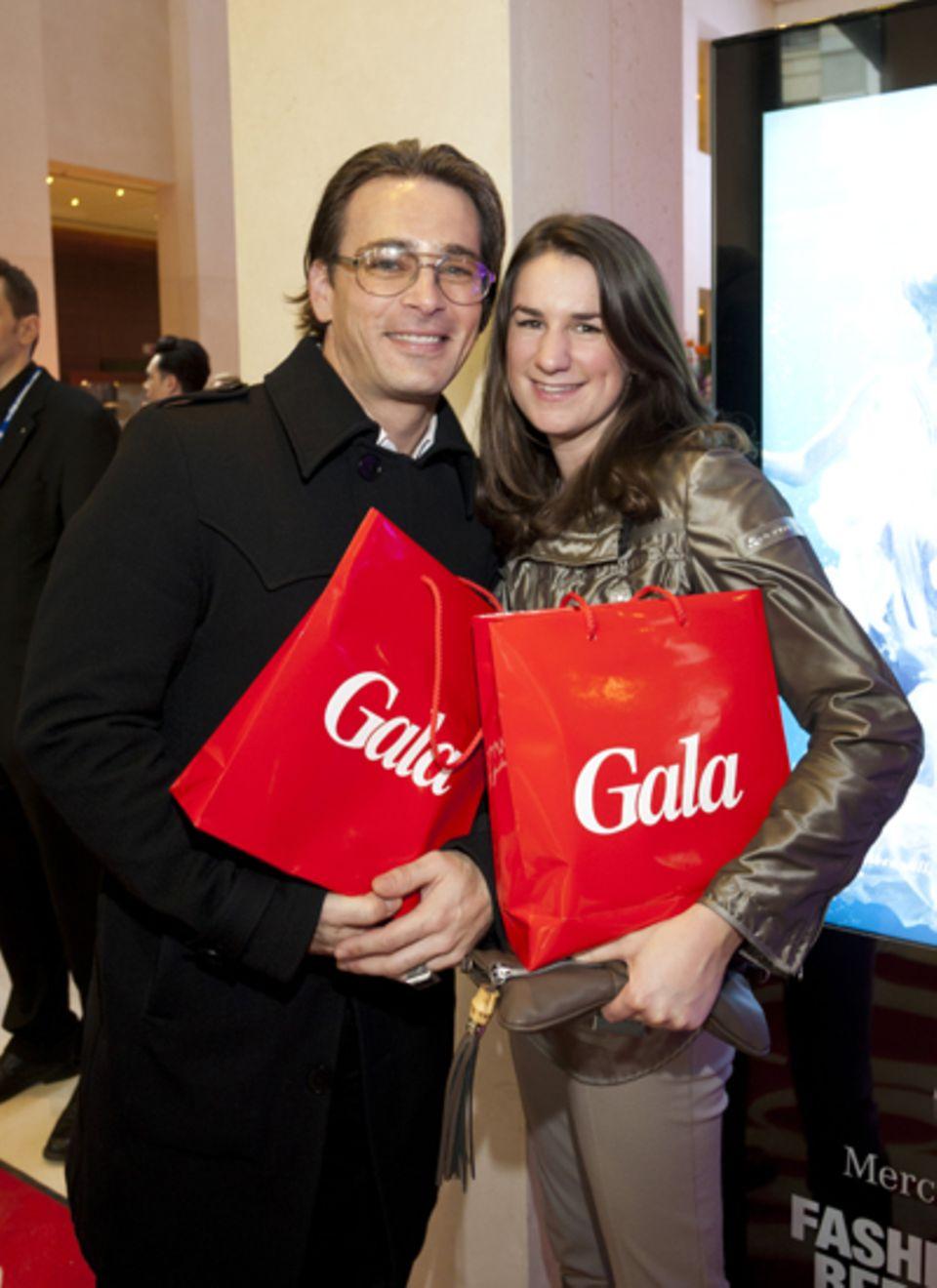 Jan Sosniok und Nadine Möllers sicherten sich gleich zwei Exemplare.