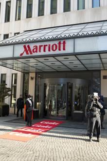 Das Marriott-Hotel in Berlin bildete den passenden Rahmen für den diesjährigen Gala Fashion Brunch.