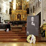 Trauerfeier Bernd Eichinger: Trauerfeier für Bernd Eichinger in München.