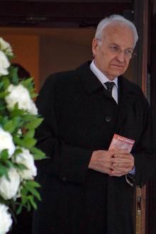 Trauerfeier Bernd Eichinger: Edmund Stoiber