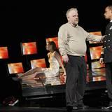 """Philip Seymour Hoffman glänzt im Sommer 2009 für """"Othello"""" im Scheinwerferlicht."""