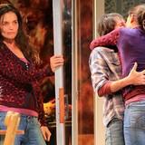 """Katie Holmes neues Broadway-Stück """"Dead Accounts"""" feiert wegen Hurrikan Sandy zwei Tage später als geplant Premiere. Holmes spie"""